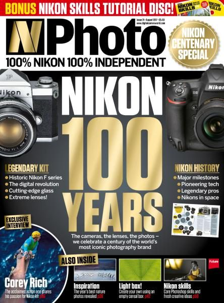 N-Photo UK — Issue 74 — August 2017