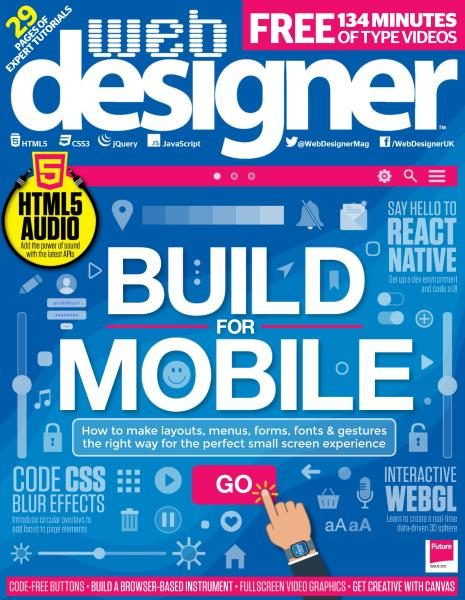 Web Designer UK — Issue 263 2017