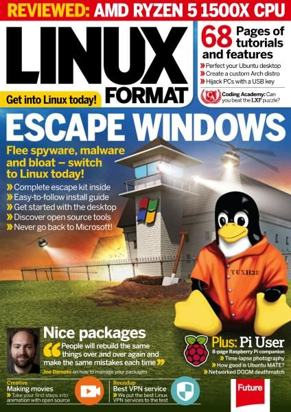 Linux Format UK — Issue 226 — August 2017