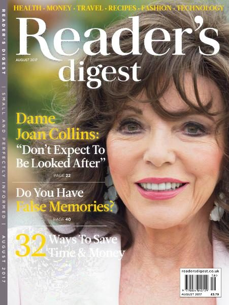 Reader's Digest UK — August 2017