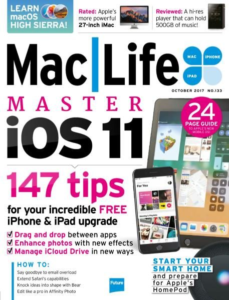 MacLife UK — Issue 133 — October 2017