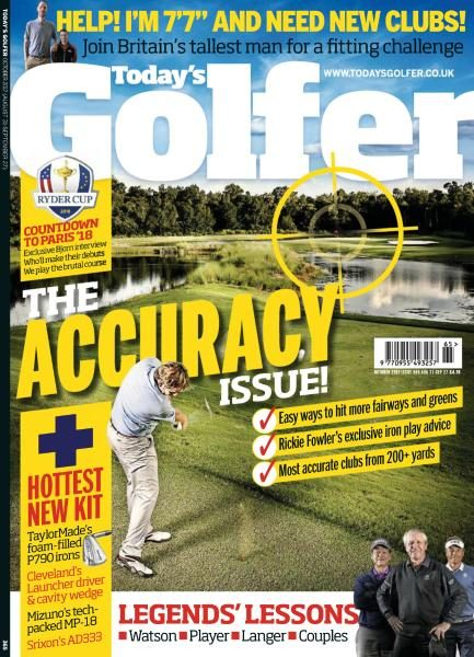 Today's Golfer UK — Issue 365 — October 2017