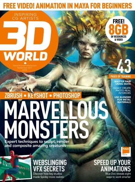 3D World UK — Issue 224 —