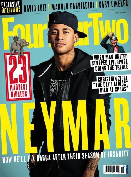 FourFourTwo UK — June 2017