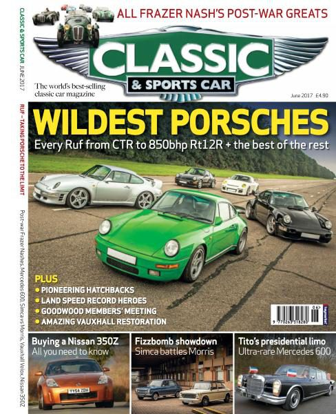 Classic & Sports Car UK — June 2017