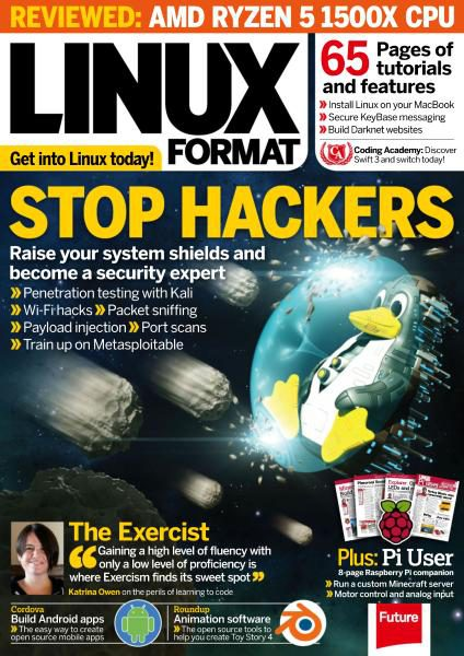 Linux Format UK — Issue 225 — July 2017