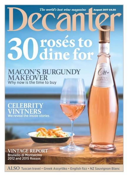 Decanter UK — August 2017