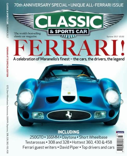 Classic & Sports Car UK — Summer 2017