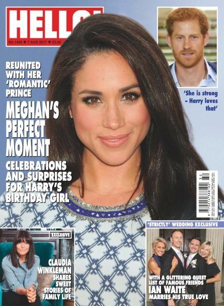Hello! Magazine UK — Issue 1493 — August 7, 2017