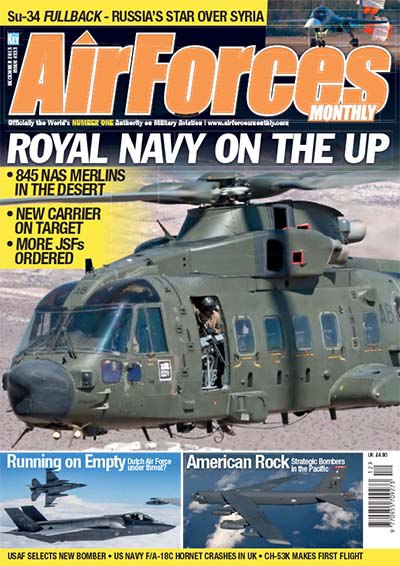 AirForces Monthly – December 2015 UK