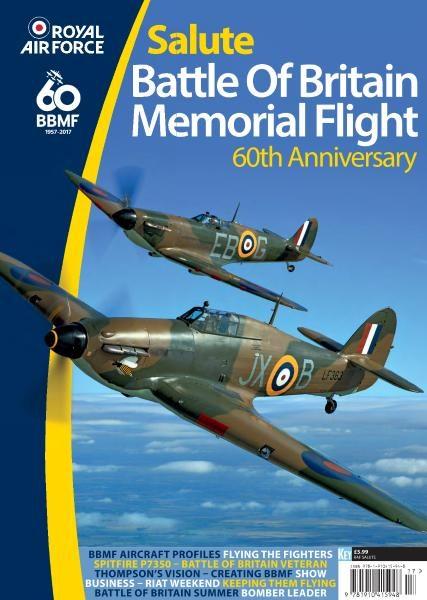 Royal Air Force Salute Battle Of Britain Memorial Flight 60th Anniversary 2017
