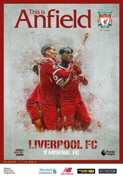Liverpool FC — Vs Arsenal FC — 27 August 2017