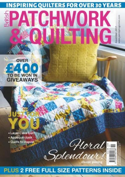 Patchwork & Quilting UK — November 2017