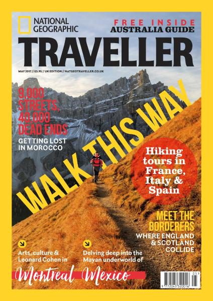 National Geographic Traveller UK — May 2017