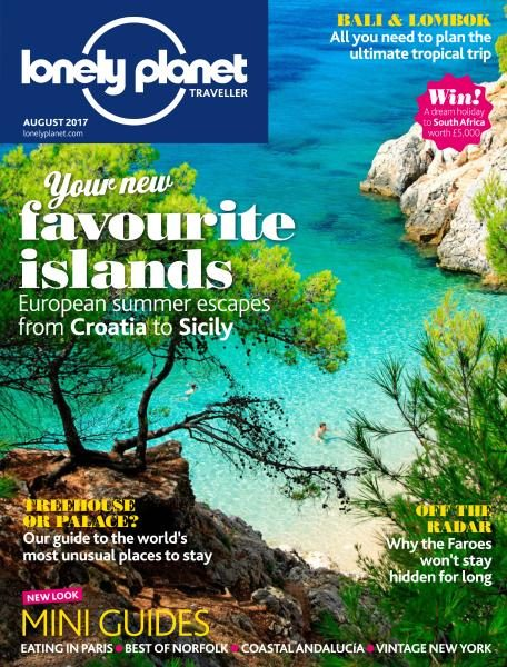 Lonely Planet Traveller UK — August 2017