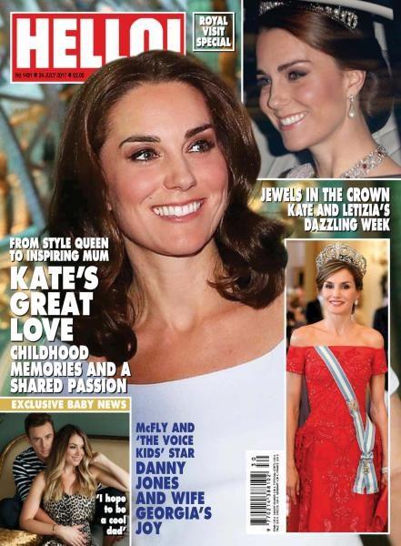 Hello! Magazine UK — Issue 1491 — 24 July 2017