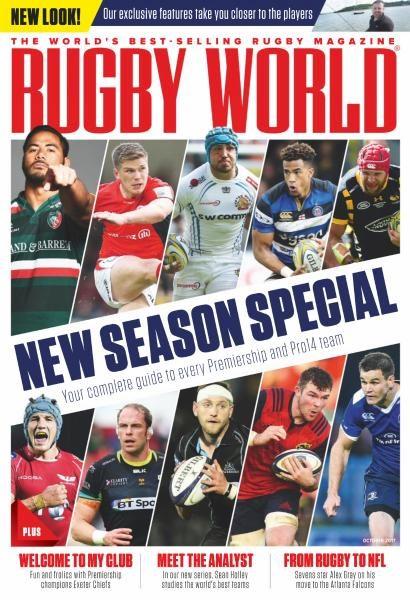 Rugby World UK — October 2017