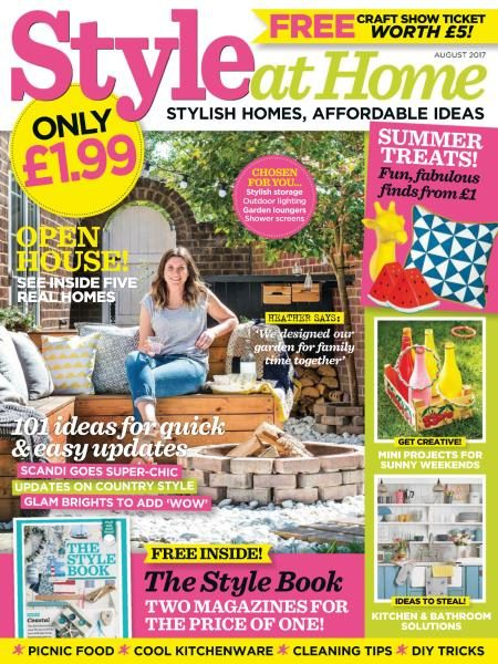 Style At Home UK — August 2017