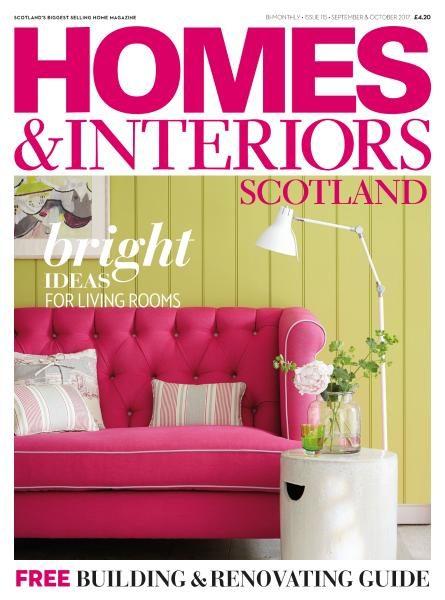 Homes & Interiors Scotland — Issue 115 — September-October 2017