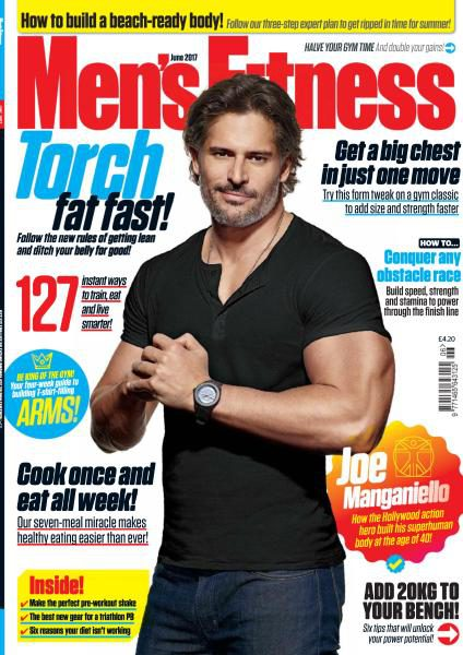 Men's Fitness UK — June 2017