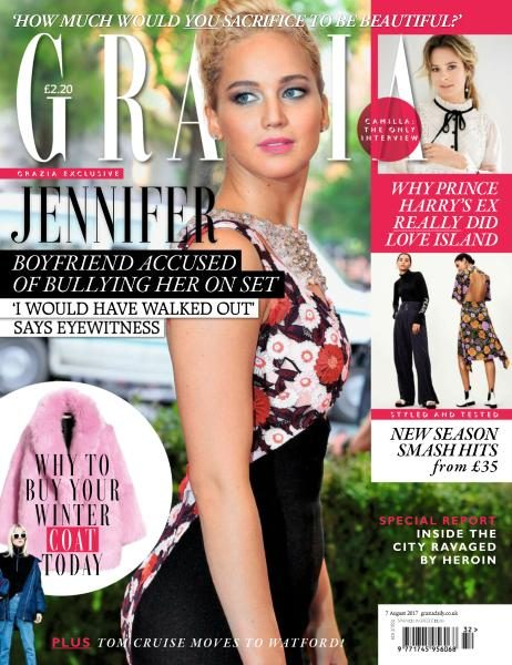 Grazia UK — Issue 639 — 7 August 2017