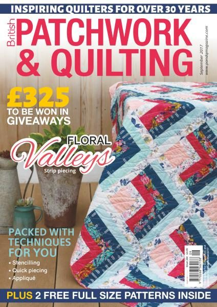Patchwork & Quilting UK — September 2017
