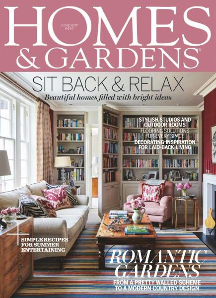 Homes & Gardens UK — June 2017