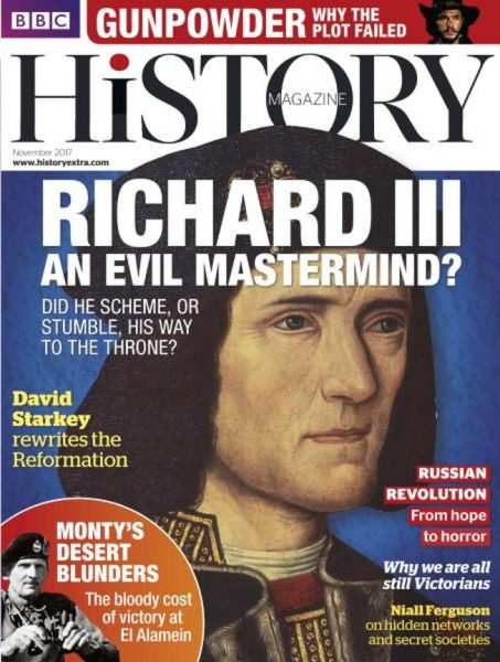 BBC History UK — November 2017