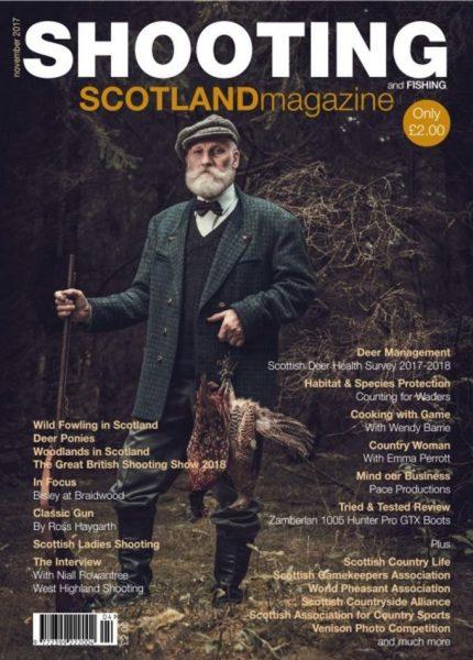 Shooting And Fishing Scotland — October-November 2017