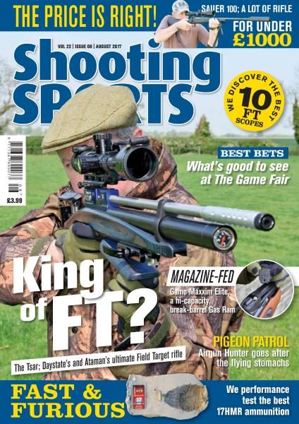Shooting Sports UK — August 2017