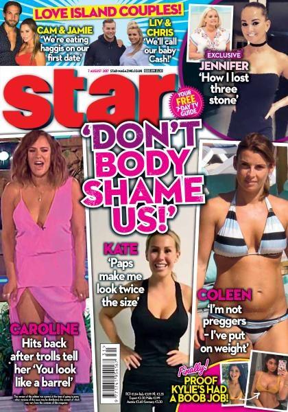 Star Magazine UK — 7 August 2017