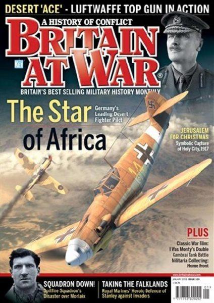Britain At War Magazine — Issue 129 (January 2018)