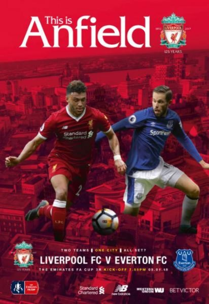This Is Anfield — Liverpool FC V Everton FC — 5 January 2018