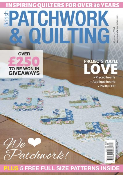 Patchwork & Quilting UK — February 2018