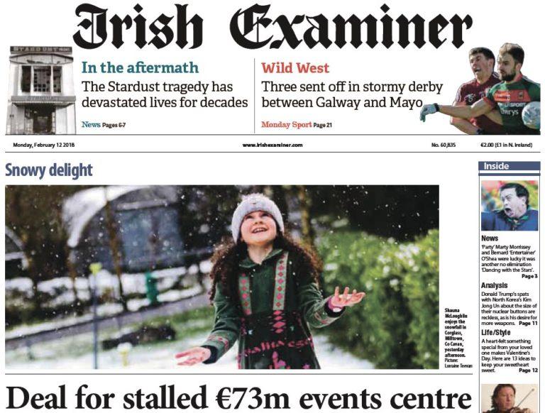 Irish Examiner – 12.02.2018
