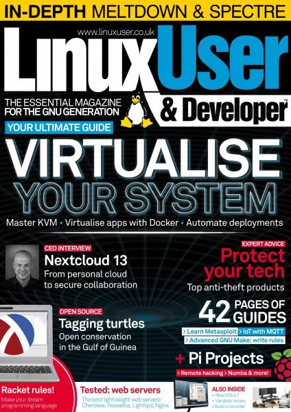Linux User And Developer – 01.02.2018