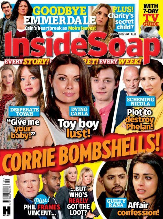 Inside Soap UK – 20 January 2018