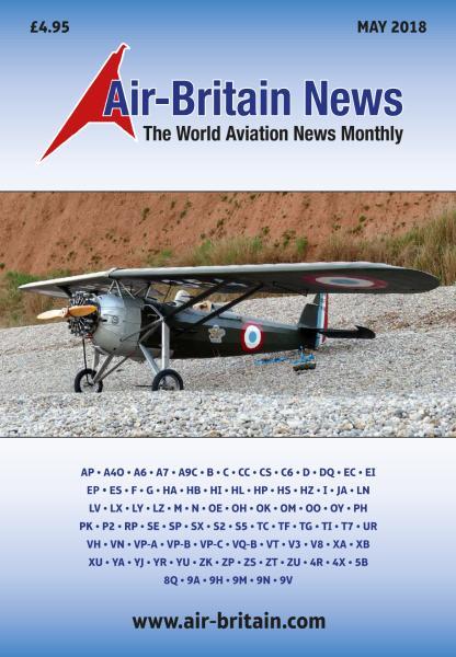 Air-Britain News – May 2018
