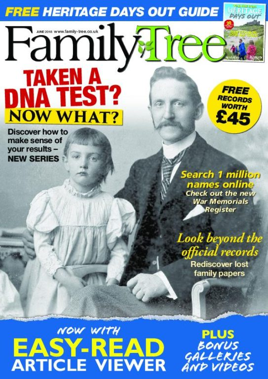 Family Tree UK – June 2018