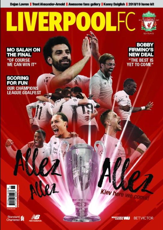 Liverpool FC Magazine – June 2018