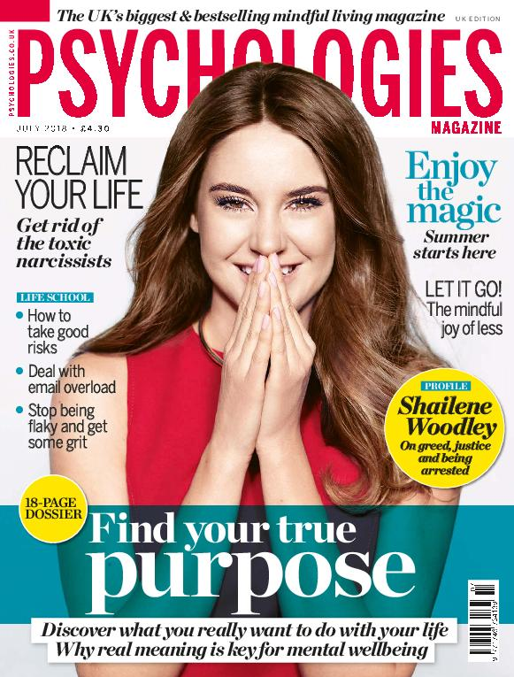 Psychologies UK – July 2018