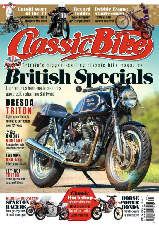 Classic Bike UK – July 2018