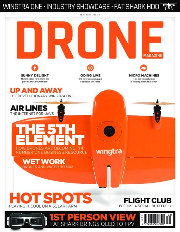 Drone Magazine UK – June 2018