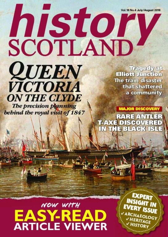 History Scotland – July-August 2018