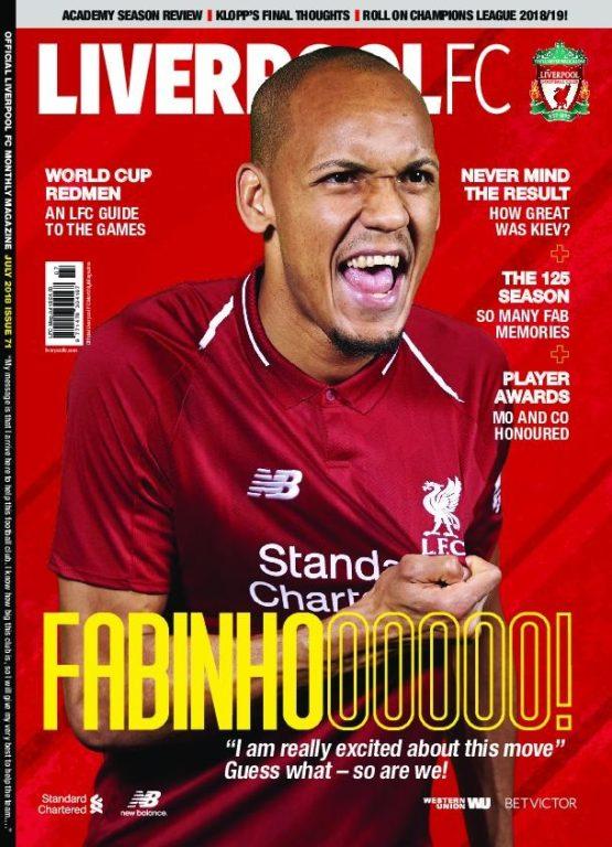 Liverpool FC Magazine – 01.07.2018
