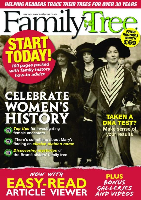 Family Tree UK – July 2018