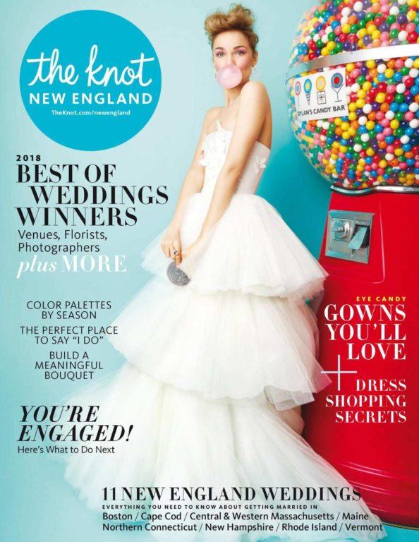 The Knot New England Weddings Magazine – May 2018