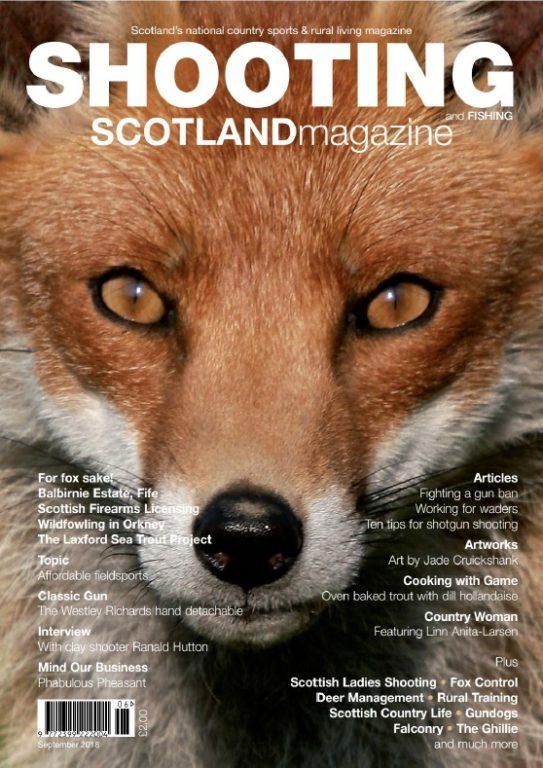 Shooting And Fishing Scotland – September 2018