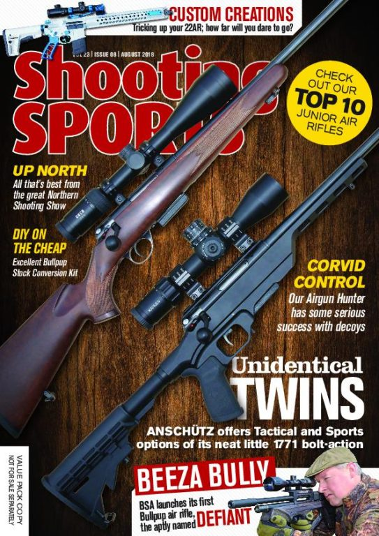 Shooting Sports UK – August 2018