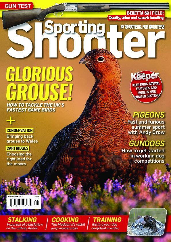Sporting Shooter UK – September 2018